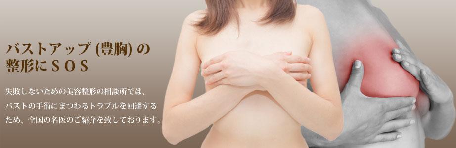 豊胸手術には、豊胸バッグやアクアフィリング豊胸・ヒアルロン酸注入などのプチ整形、脂肪注入のコンデンスリッチ・セリューション・ピュアグラフトなどの方法があります。豊胸手術の失敗・修正を回避するために名医をご紹介いたします。同時に豊胸手術・入れ替えの効果・トラブル・デメリット・リスク・口コミを解説しています。